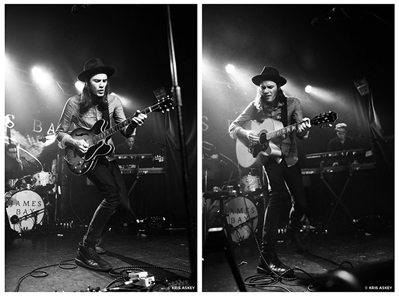 James Bay at Stage AE
