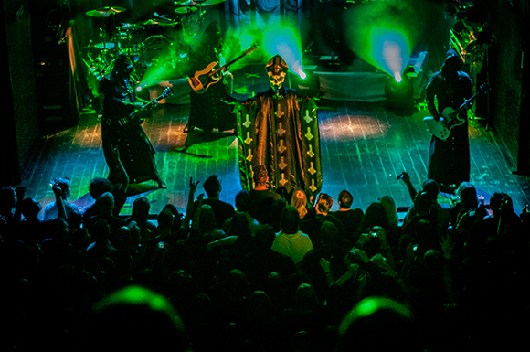 Ghost at Stage AE