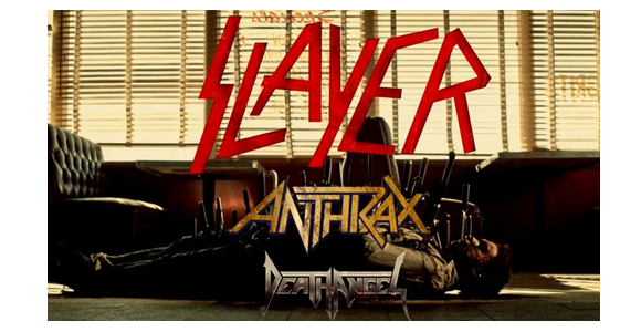 Slayer, Anthrax & Death Angel at Stage AE