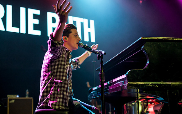 Charlie Puth at Stage AE