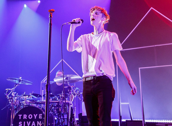 Troye Sivan at Stage AE