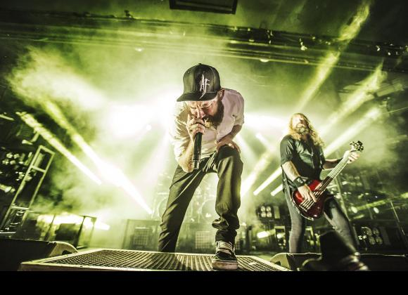 In Flames, Hellyeah & From Ashes To New at Stage AE