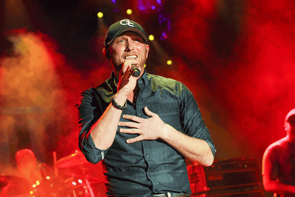 Cole Swindell & Jon Langston at Stage AE