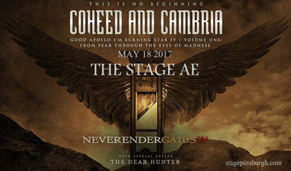 Coheed and Cambria at Stage AE