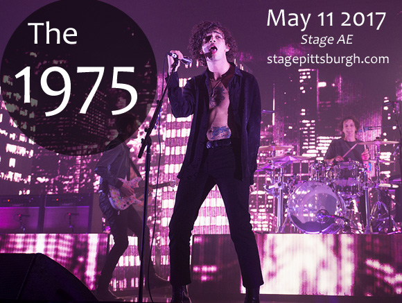 The 1975 at Stage AE