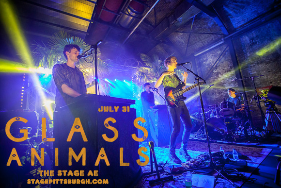 Glass Animals at Stage AE