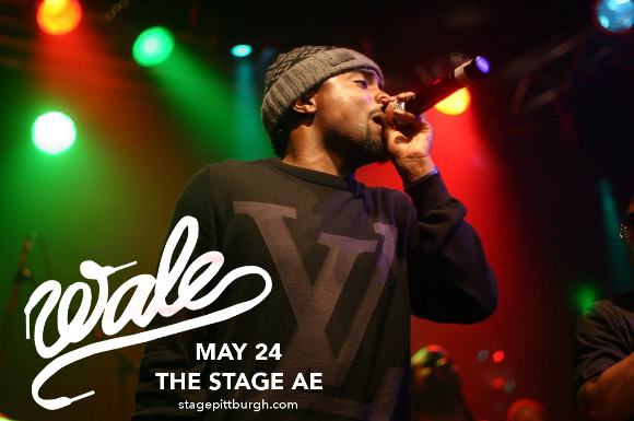Wale at Stage AE