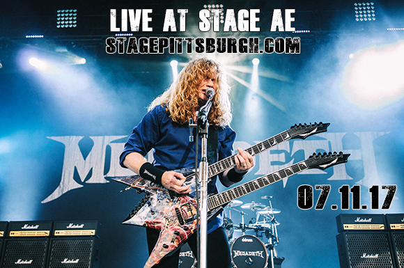 Megadeth, Meshuggah & Tesseract at Stage AE