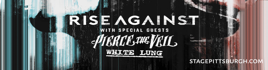 Rise Against, Pierce The Veil & White Lung at Stage AE