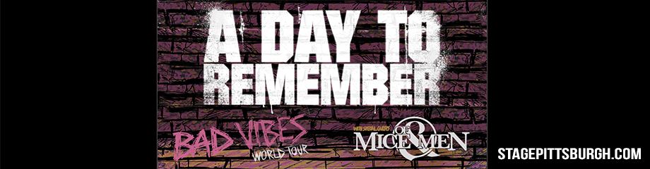 A Day to Remember at Stage AE
