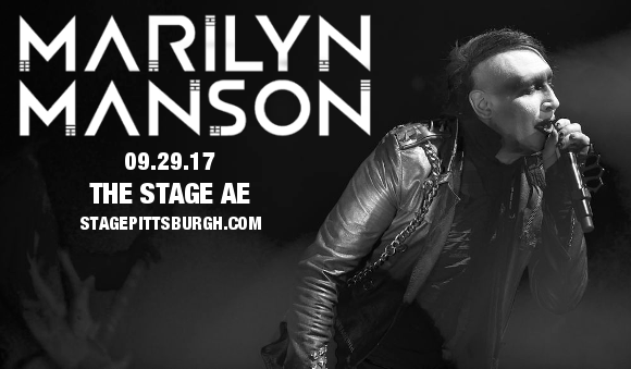 Marilyn Manson at Stage AE