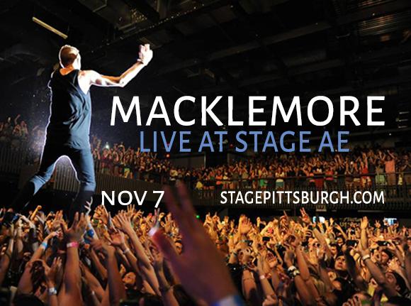 Macklemore at Stage AE
