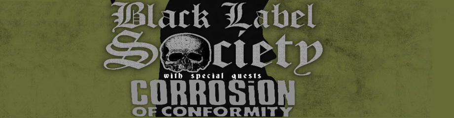 Black Label Society, Corrosion of Conformity & Red Fang at Stage AE
