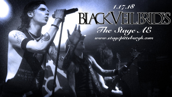 Black Veil Brides & Asking Alexandria at Stage AE
