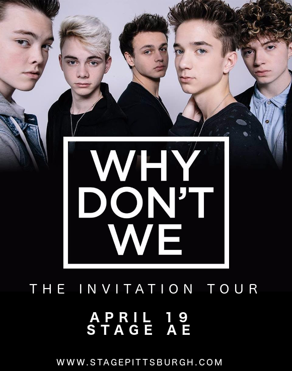 Why Don't We at Stage AE