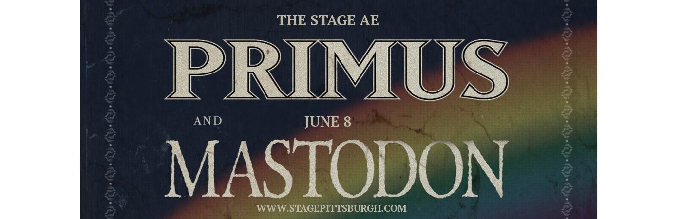 Primus & Mastodon at Stage AE