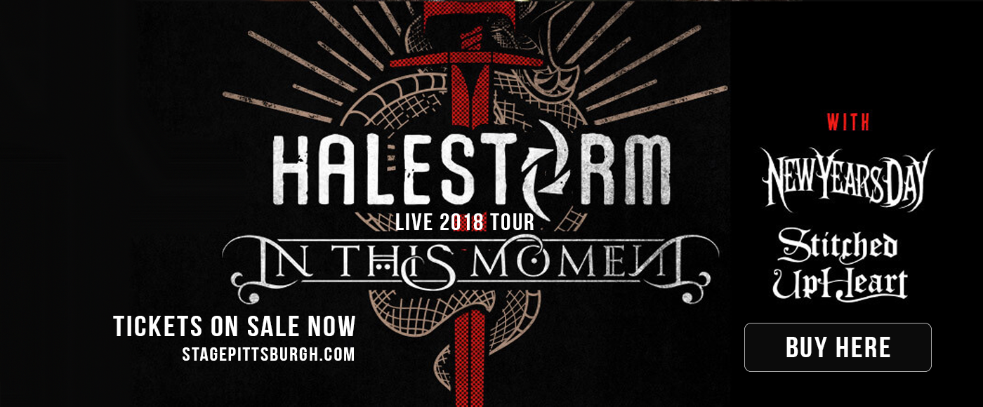 Halestorm & In This Moment at Stage AE