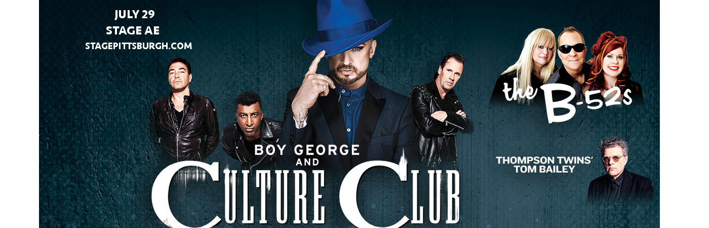 Boy George, Culture Club & Thompson Twins' Tom Bailey at Stage AE