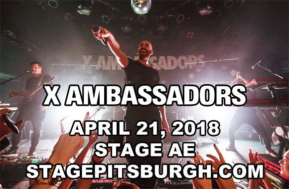 X Ambassadors at Stage AE