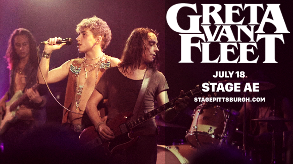 Greta Van Fleet at Stage AE