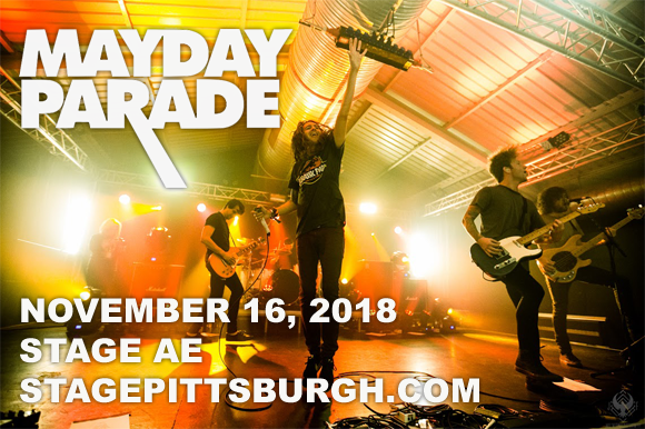 Mayday Parade, This Wild Life & William Ryan Key at Stage AE