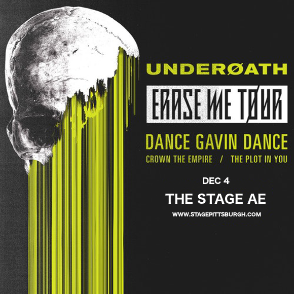 Underoath at Stage AE