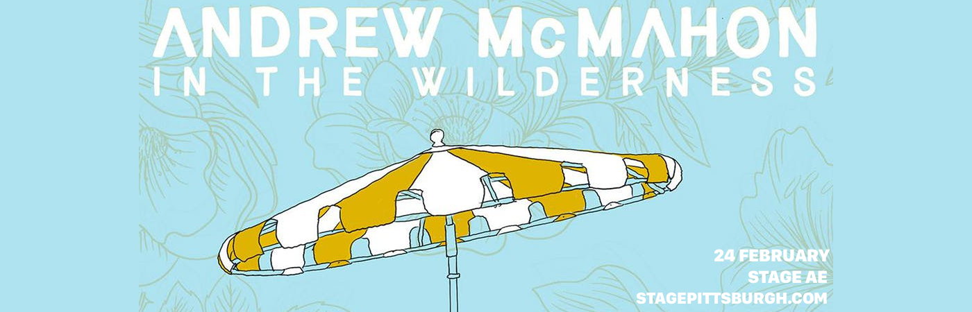 Andrew McMahon in the Wilderness at Stage AE