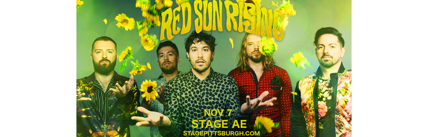 Red Sun Rising at Stage AE