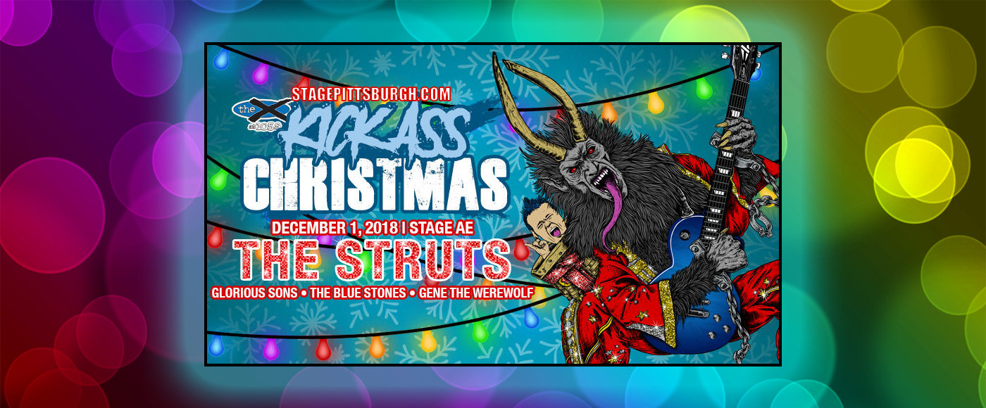 105.9 The X's Kick-Ass Christmas: The Struts at Stage AE