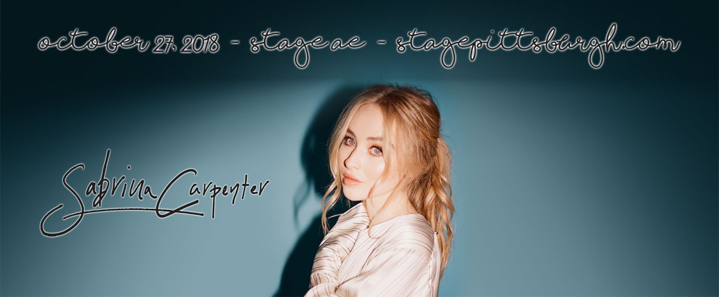 Sabrina Carpenter at Stage AE