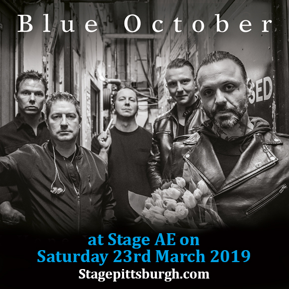 Blue October at Stage AE