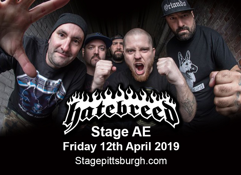 Hatebreed at Stage AE