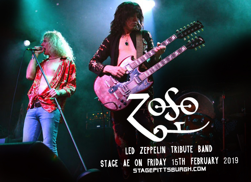 Zoso - Led Zeppelin Tribute Band at Stage AE