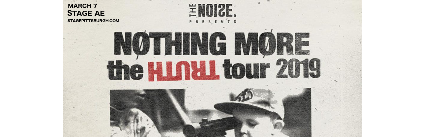 Nothing More at Stage AE