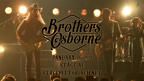 Brothers Osborne at Stage AE