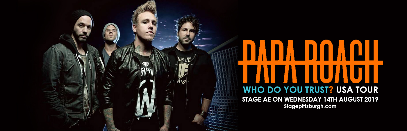 Papa Roach at Stage AE