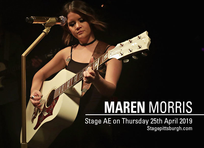 Maren Morris at Stage AE