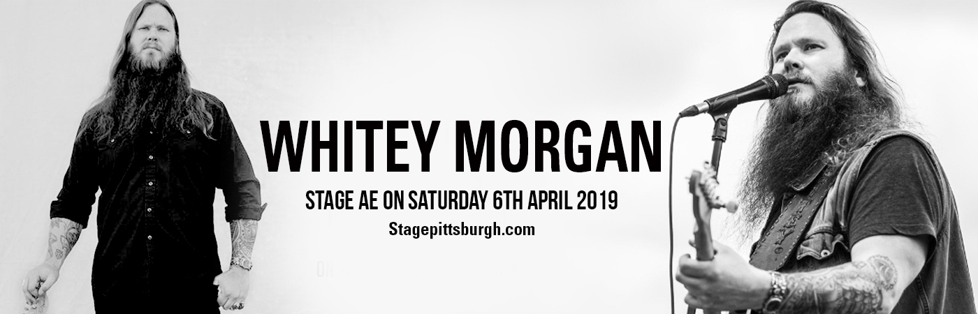 Whitey Morgan at Stage AE