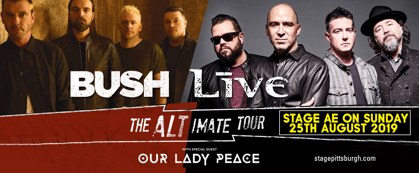 Live, Bush & Our Lady Peace at Stage AE