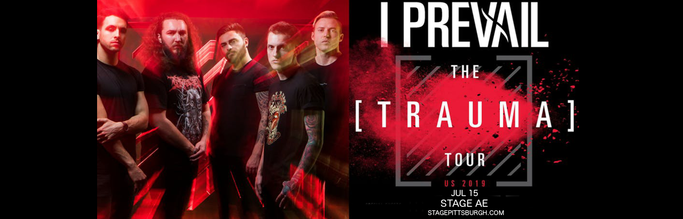 I Prevail at Stage AE