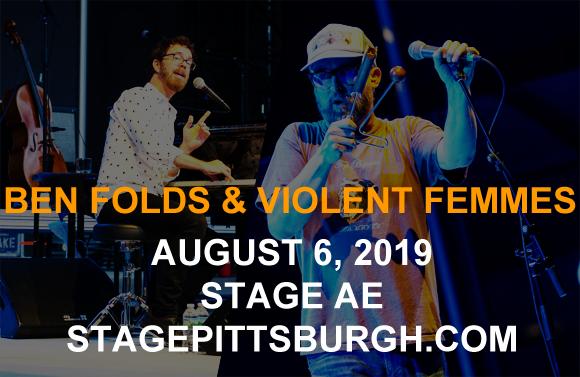 Ben Folds & Violent Femmes at Stage AE