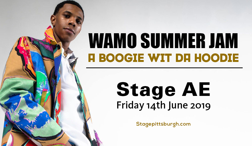 Wamo Summer Jam: A Boogie Wit Da Hoodie at Stage AE