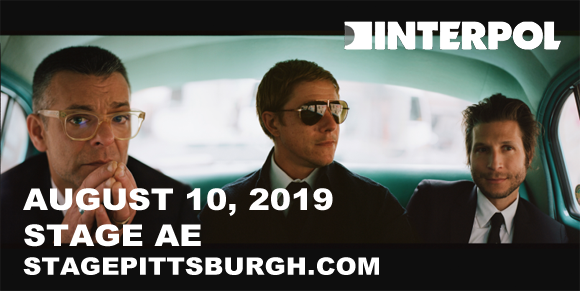 Interpol at Stage AE