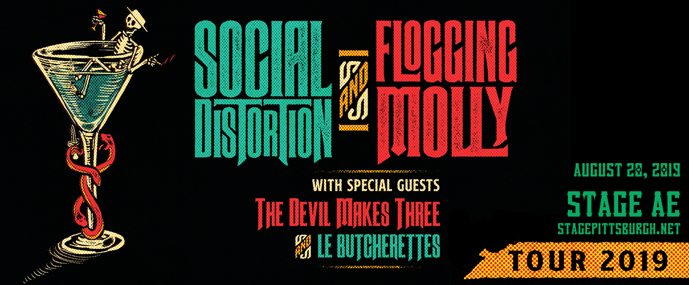 Social Distortion, Flogging Molly & The Devil Makes Three at Stage AE