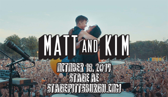 Matt and Kim at Stage AE