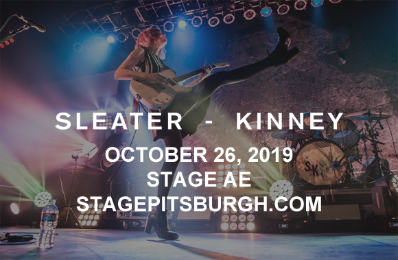Sleater-Kinney at Stage AE