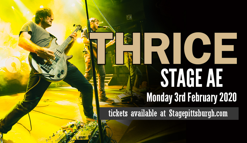 Thrice at Stage AE