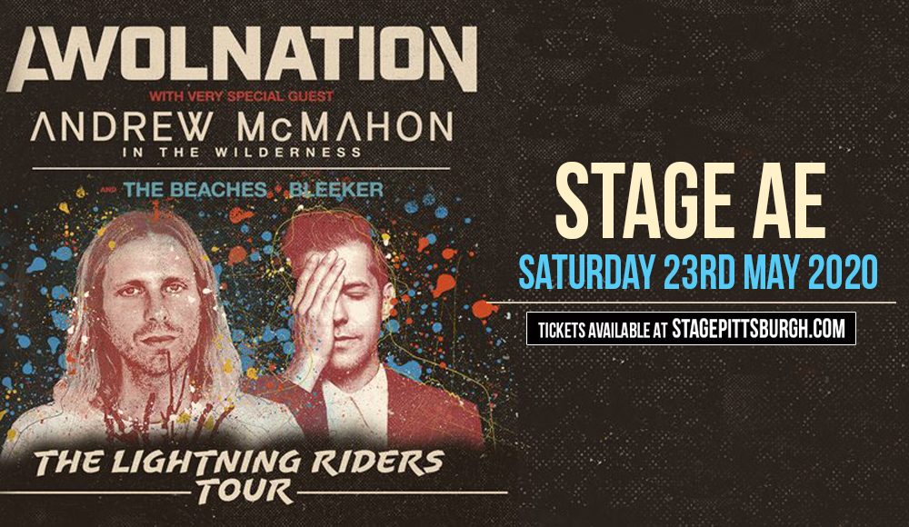 Awolnation & Andrew McMahon at Stage AE