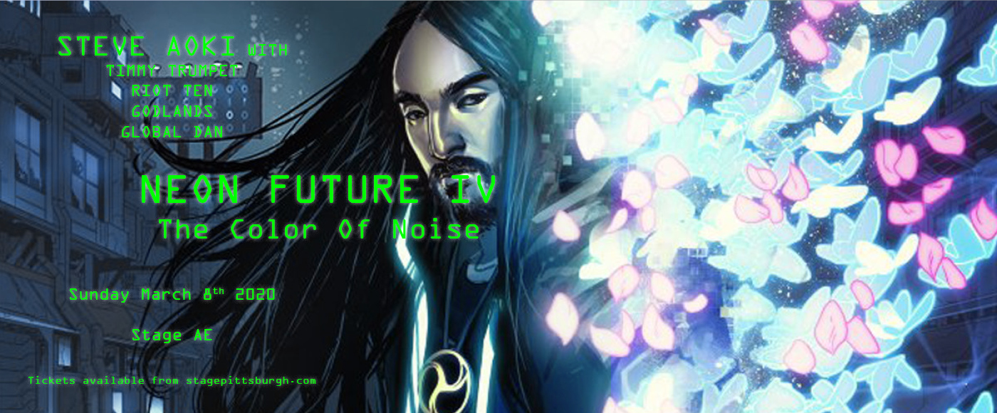 Steve Aoki: Neon Future IV at Stage AE