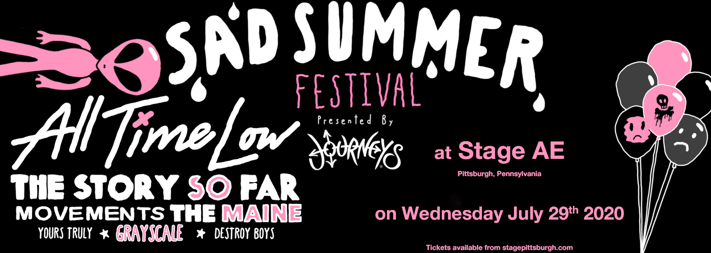 Sad Summer Festival at Stage AE